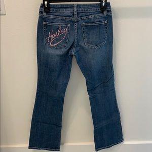 Harley Davidson Women's Jeans pink Bling
